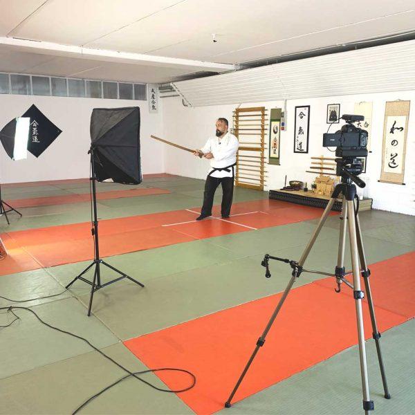 Fabio Ramazzin Aikido lezione zoom webinar